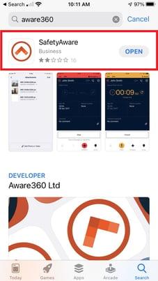 Apple App Store SafetyAware-1